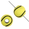 Acrylic Sport Bead Tennis Ball 12mm